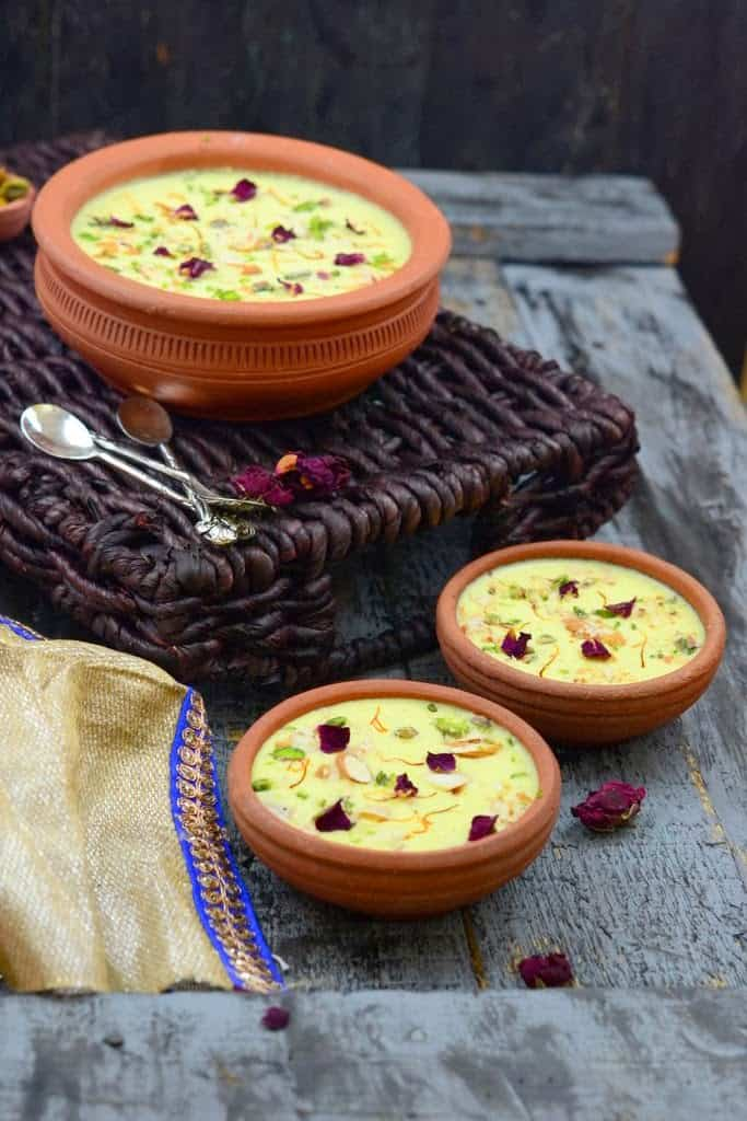 Gobhi Ki Kheer or cauliflower pudding is a delicious dessert made using cauliflower as the main ingredient. This Indian dessert is a must try.