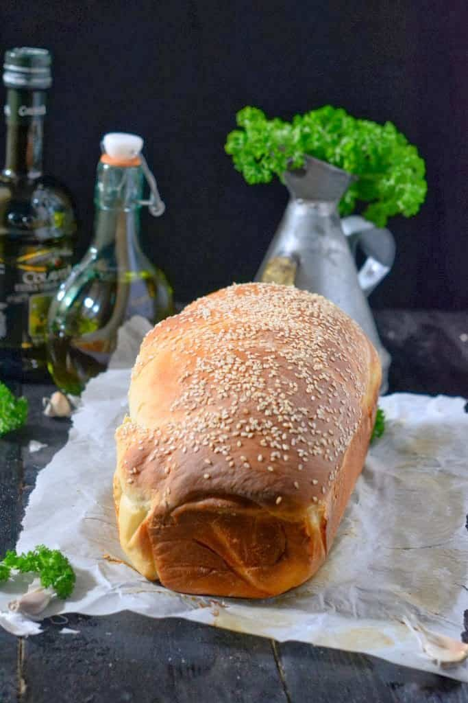 Mediterranean Flavored Spiral Bread is soft and moist bread with Mediterranean flavors in every bite. Here is how to make this Bread at home.