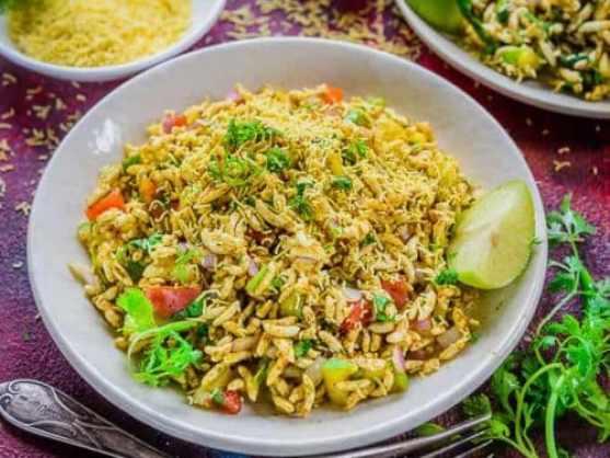 Best Bhel Puri Recipe (Step by Step + Video) - Whiskaffair