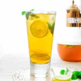 Coconut and Lemon Iced Tea
