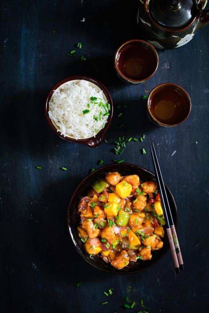 Spicy Sweet Mango Chicken Recipe, How to make Spicy Sweet Mango Chicken