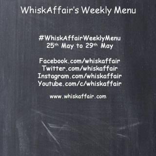 Whisk Affair Weekly Menu