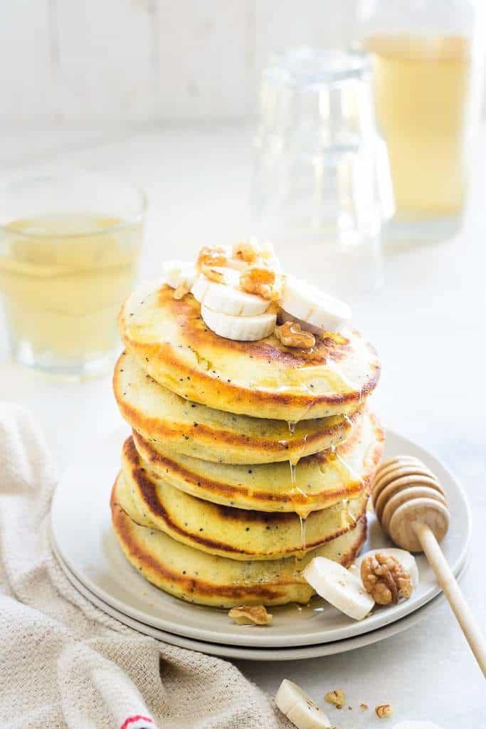 Banana Poppy Seeds Pancake Recipe