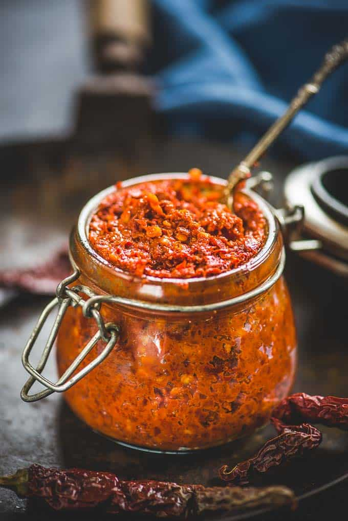 How To Make Red Chilli Paste (Best Red Chilli Paste Recipe) – Video recipe