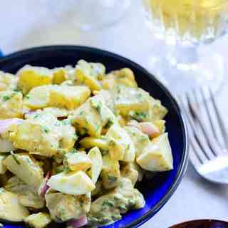 Texas Style Potato salad