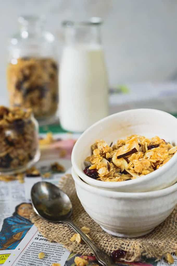 Vanilla Coconut Granola Recipe