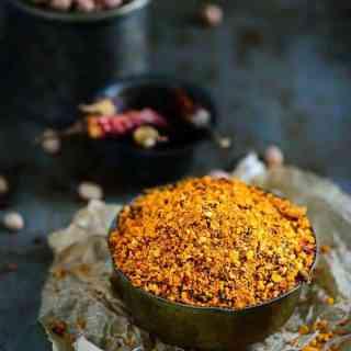 how to make andhra style chutney powder