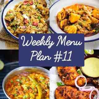 Weekly Menu Plan for the Week of 14th Dec