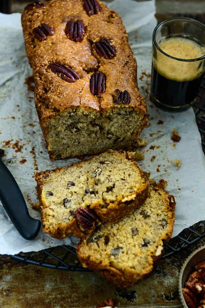 Banana Cinnamon Pecan Bread Recipe, How to make Banana Cinnamon Pecan Bread