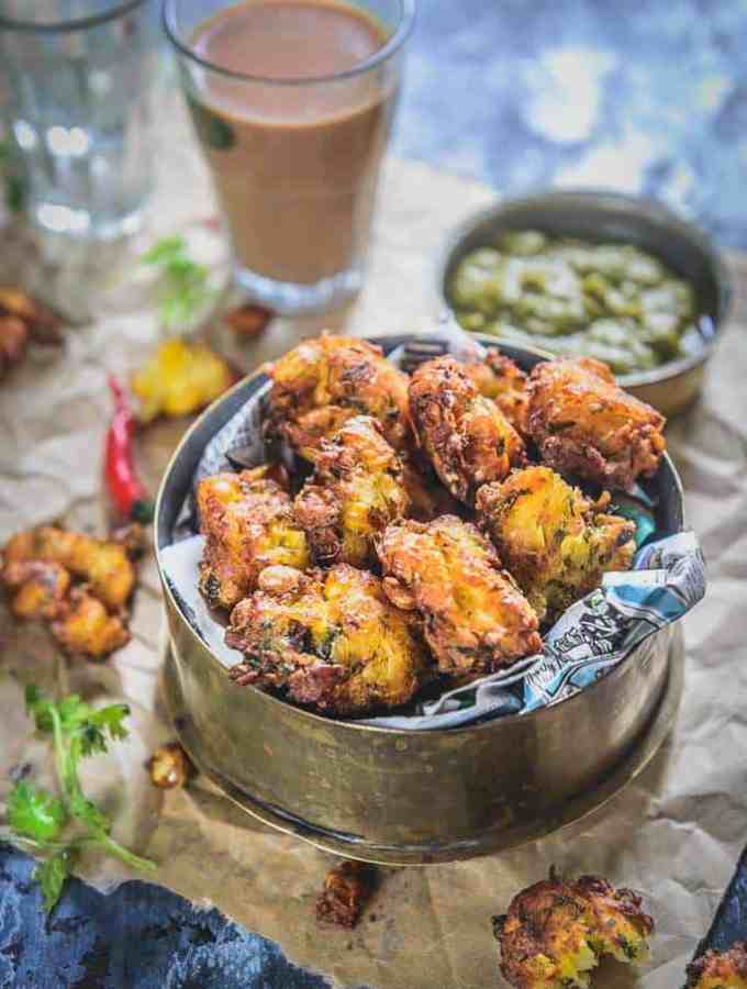 Corn Pakora Recipe, Corn Fritters Recipe, Corn Pakoda, bhutta pakora, corn pakoda recipe, makai ke pakode recipe in hindi, corn pakora step by step, crispy corn pakoda