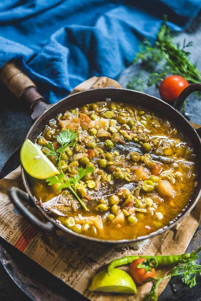 Matar ka Nimona Recipe (Fresh Peas Curry)