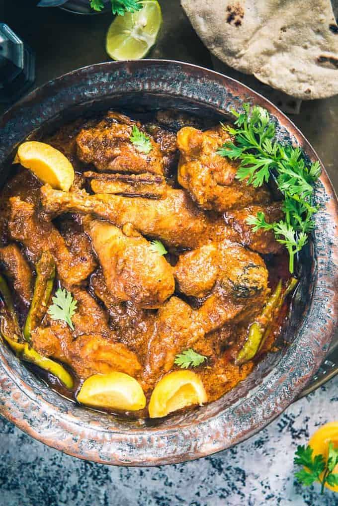 Khubani Murgh Kadhai Recipe
