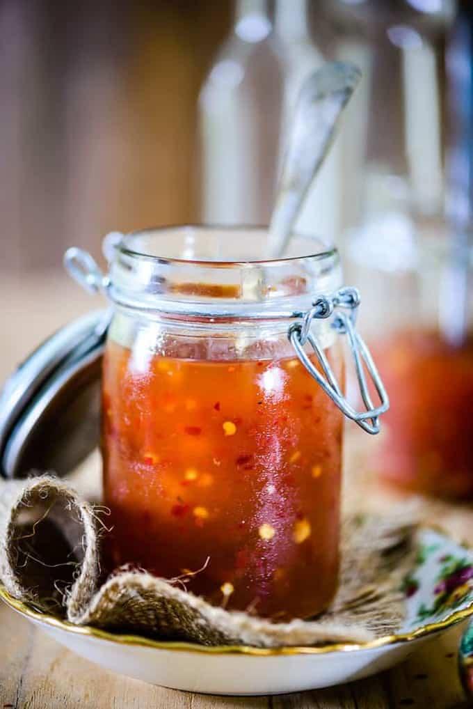 Thai Sweet Chilli Sauce Recipe, How to make Thai Sweet Chilli Sauce
