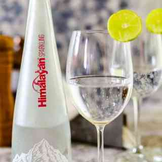 Himalayan Sparkling Water - A perfect accompaniment to your gourmet meal