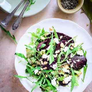Made using Balsamic Vinegar, extra virgin olive oil, walnuts and feta cheese, Balsamic Beet Salad is surely a treat which cannot be missed.