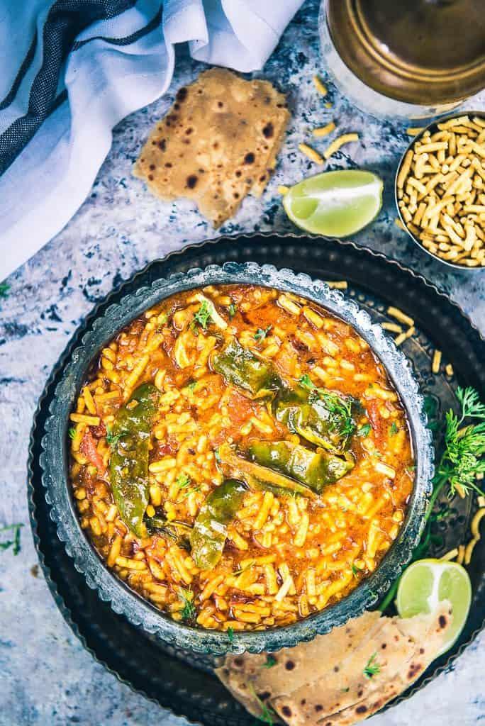 Rajasthani Sev Tamatar Ki Sabzi Recipe, How to make Rajasthani Sev Tamatar Ki Sabzi