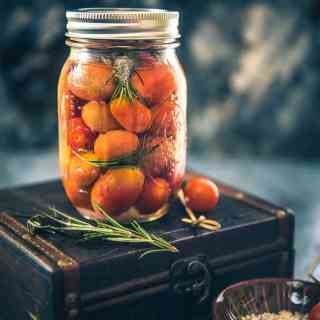 Vodka Spiked Tomato are a very innovative dessert that you can serve for house parties and I can vouch that your guests will be a happy lot.