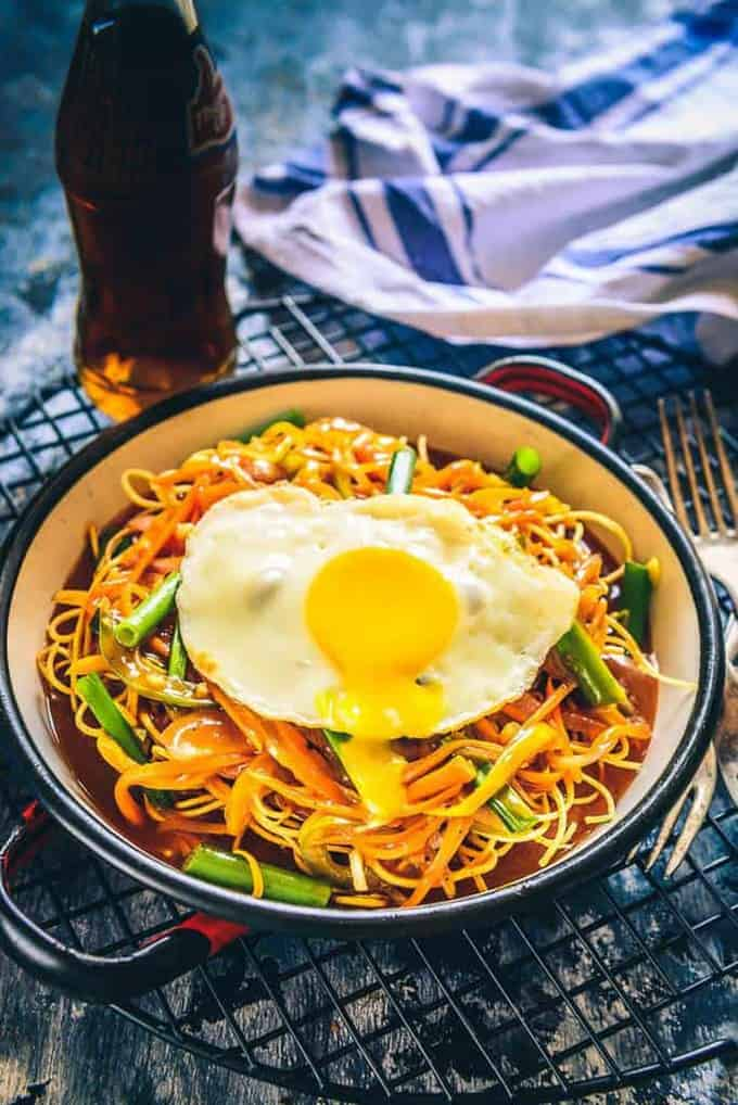 Veg American Chop Suey Recipe
