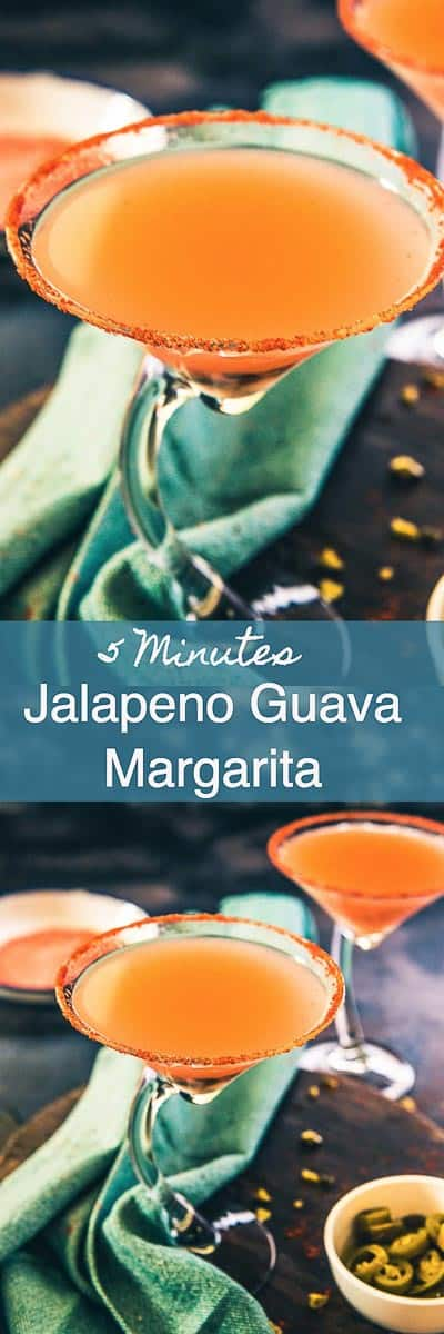 A fine blend of guava juice, jalapeno, lemon juice, red chilli powder and club soda, Virgin Guava Jalapeno Margarita is a drink that you cannot miss sipping on! Drink I beverage I Mexican I no Alcohol I Non Alcoholic I mocktail I Easy I Simple I quick I perfect I