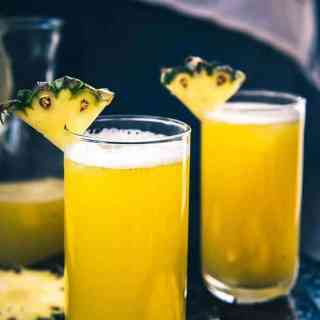 Homemade Fresh Pineapple Juice Recipe, pineapple juice recipe, pineapple juice for weight loss, pineapple juice benefits and side effects