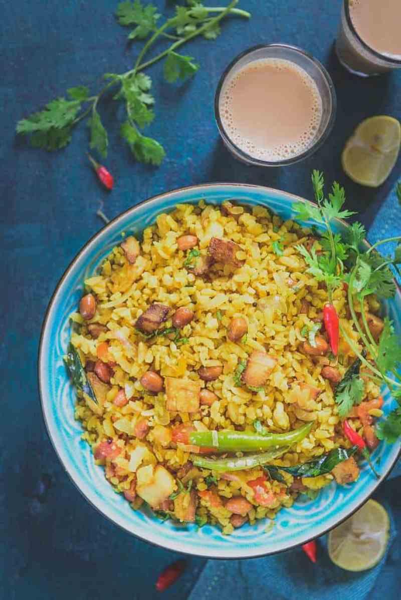 how to prepare poha recipe