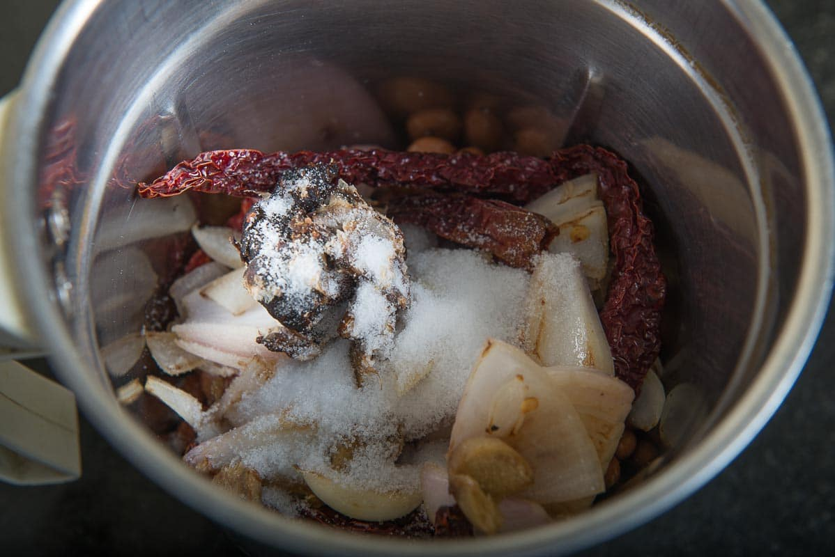 Peanut Chutney Recipe, Andhra Style Peanut Chutney, Palli Chutney, groundnut chutney,peanut chutney andhra style, groundnut chutney for rice