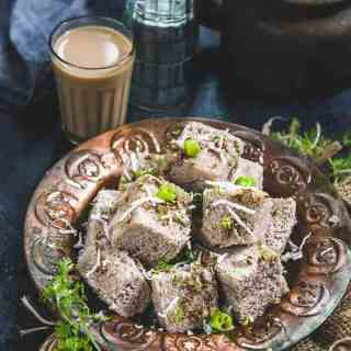 Faralai Dhokla Recipe is a gluten freedish that can be made as falahar for vrat or can be had otherwise also. It's easy to make and quite filling.