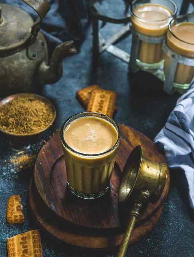 Masala Chai or Masala Tea is a very popular Indian drink made using tea leaves, milk and chai masala powder. It's a perfect drink to sip on throughout the day. Here is how to make Masala Tea.