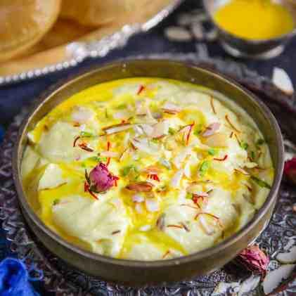 Shrikhand Recipe (Step by Step) - Whiskaffair