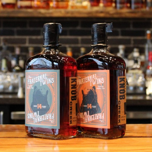 Whiskey Bear - Barrel- Select - Knob Creek 090718 - The Fraternal Twins
