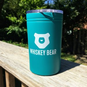 Whiskey Bear Tumbler 11 oz – Teal