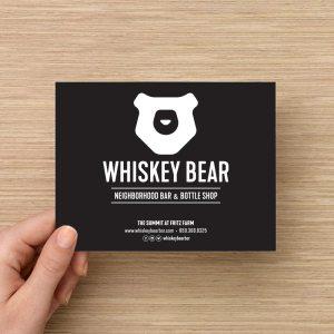 Whiskey Bear Gift Certificate