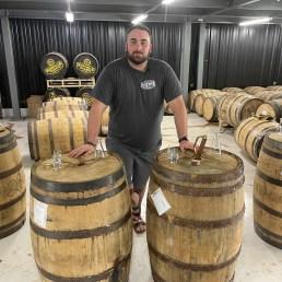 Two barrels aged at Nashville Barrel Co