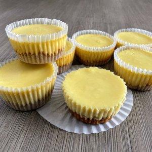 Durian Mini Cheesecakes