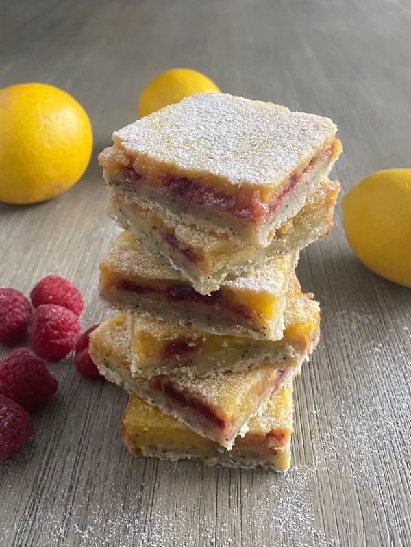 Lemon Raspberry Squares