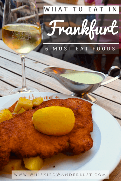 What to eat in Frankfurt, 6 must try foods.