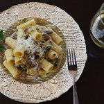 Sausage Rigatoni with Cream Sauce