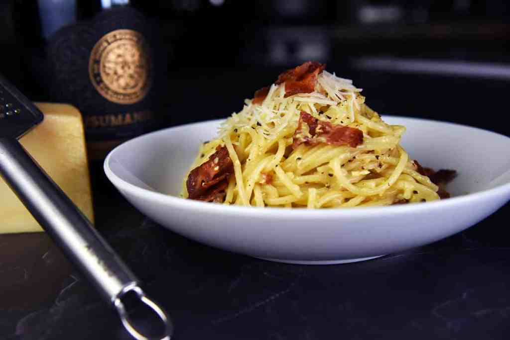 Lovely Spaghetti Carbonara