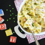 Kids Easy Cheesy Ham N' Peas Bow Tie