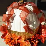 DIY Pumpkin Fall Planters