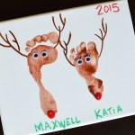 Reindeer Christmas Canvas