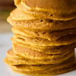Best Buttermilk Whole Wheat Pumpkin Pancakes