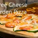 Three Cheese Garden Pizza