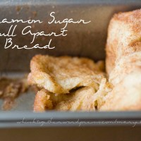 Pull Apart Cinnamon Sugar Bread - in the Bread Machine