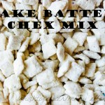 Cake Batter Chex Mix and Cake Batter Cake Pops
