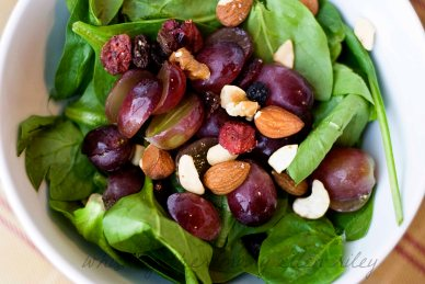 Antioxidant Salad on Whisk Together