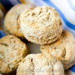 Lighter Buttermilk Biscuits