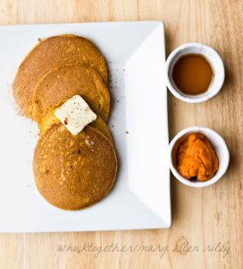 Paleo Pumpkin Pancakes_1 on Whisk Together