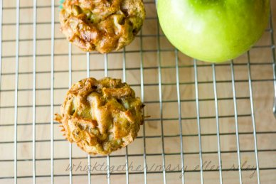 Paleo Apple Muffins_4 on Whisk Together