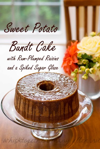 Sweet Potato Rum Cake_1 on Whisk Together